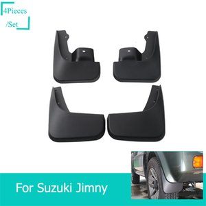 Car Mudguards Auto Front Rear Mud Guards 4Pcs Set For Suzuki Jimny 2007-2017 Car Interior Accessories on Sale