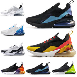 Wholesale Floral s Running Shoes for Women Men Shoes University SE Triple Black White Rainbow Heel Volt Orange Mens Trainer flats Sport Sneakers