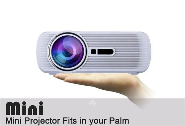 Акций США! BL-80 1080P HD Mini портативный проектор LED Cenima домашний кинотеатр AV / USB / SD / VGA / HDMI 1920х1080 ЖК-проекторы