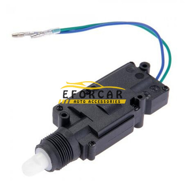 top popular Car Door Lock Actuator Auto Locking System Motor With Hardware Universal Car DC 12V 2 cable Wire Heavy Duty Power 2021