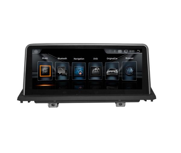 "10.25 inch screen 1280*480 HD Android7.1 Car DVD GPS Navigation for BMW X5 E70 F15 F18 X6 E71 F16 F86 original 6.5"" Or 8.8"" screen"