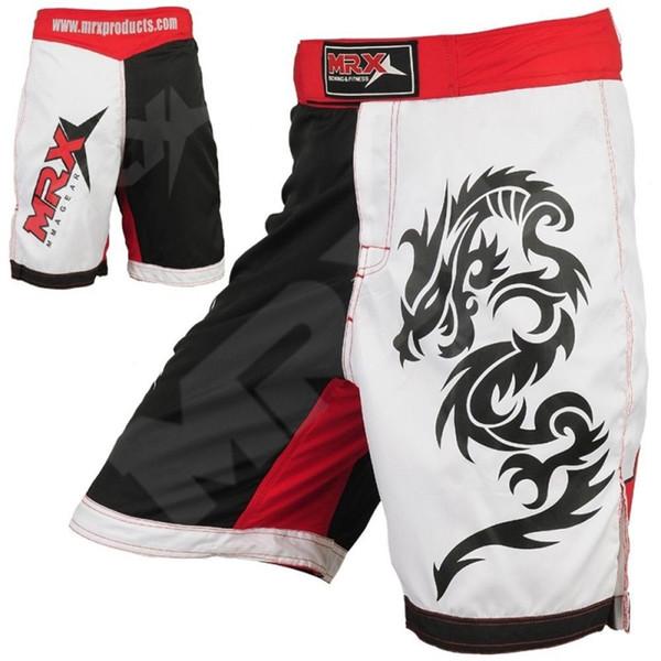 Mens MMA Boxing Shorts Wrestling Kickboxing Fight Trunks Cheap Grappling Shorts Muay Thai Shorts MMA Pants Free Shipping M-3XL