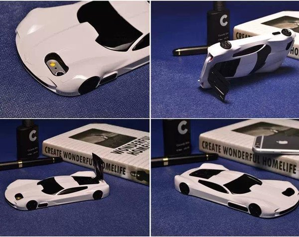 """2015 Cute 3D Sports Car Cell Phone Cover Case For Iphone 5/ 6 4.7"""" Race Car Hard Case Back Cover Shell,Free shipping !"""