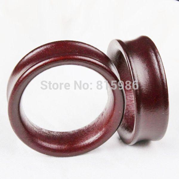 top popular 2015 new Wood ear plug flesh tunnel factory wholesales 70pcs body jewelry expander gauge strecher 2021