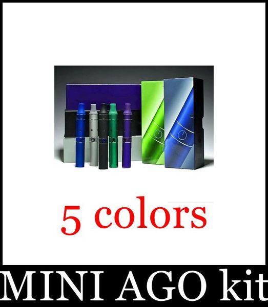 Mini AGO G5 Erva Seca Vaporizador Herbal Vaporizadores Erva Caneta Cera Erva Seca Atomizador Eletrônico Cigarro Erva Vapor Cigarros Kits Vs Júnior RAW TZ019