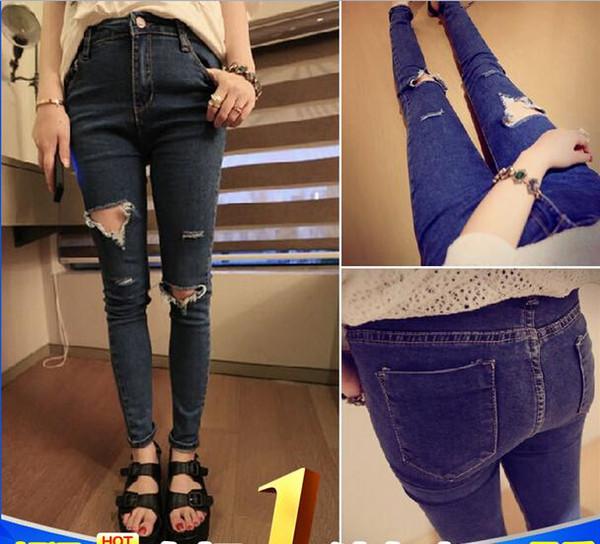 Jeans zerrissene knie modische jeansmodelle for Zerissene jeans herren