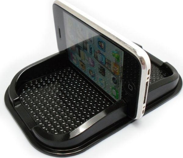 Black Car Dashboard Sticky Pad Mat Anti Non Slip Gadget Mobile Phone GPS Holder Interior Items Accessories 1203#03