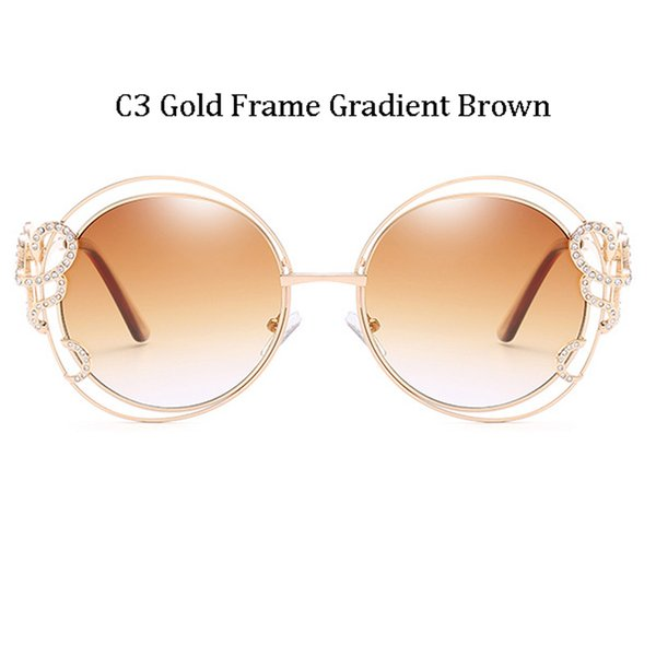 C3 Gold Frame Gradient Brown