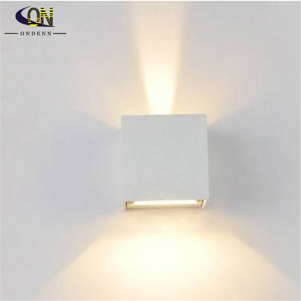 2018 wall lamps 6w led outdoor wall sconce waterproof modern led wall lamps 6w led outdoor wall sconce waterproof modern led wall light warm white 2pcs cob aloadofball Gallery