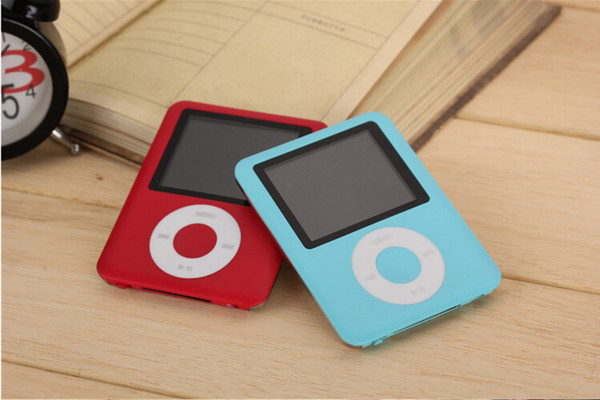 "best selling 3TH MP3 MP4 Player 8GB 16GB 32GB 4TH 1.8"" LCD Media Video radio FM 3th Generation 6 Colors 100pcs fee shippingr"