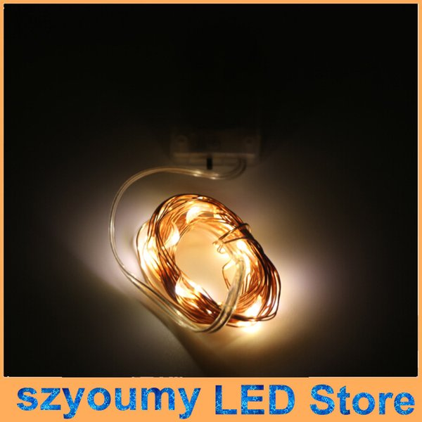 Cr2032 button battery operated 2m 20led micro led string light 50pcslot cr2032 button battery operated 2m 20led micro led string light waterproof led fairy aloadofball Images