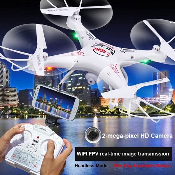 RC Drones D97 With Camera HD RC Helicopter D97 2.0PM WIFI FPV Selfie Drone 6-Axis 4CH Gyro RC kvadrokopter Quadcopter