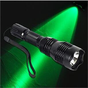 Vente chaude 2000LM Tête en alliage d'aluminium Mode unique 802 XPE L2 Q5 Lampe de poche Flashlight