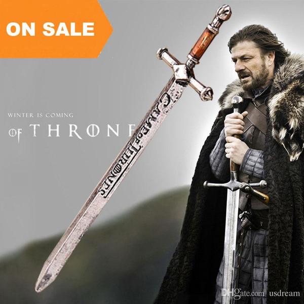 Game of Thrones Eis Schwerter alten Silber Brieföffner Schwert Handwerk Lied von Eis und Feuer Schmuck 080090