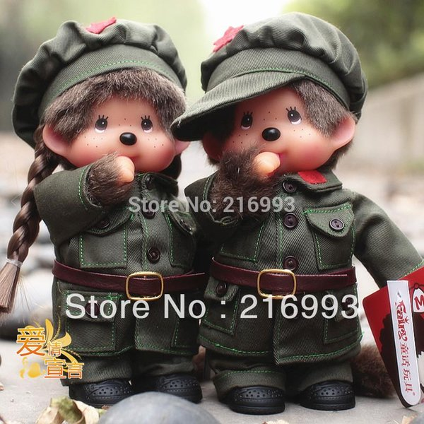 [New arrival] [Hot sale] Lovers doll toy Classic lovely cartoon role type rubber unisex pair child toy