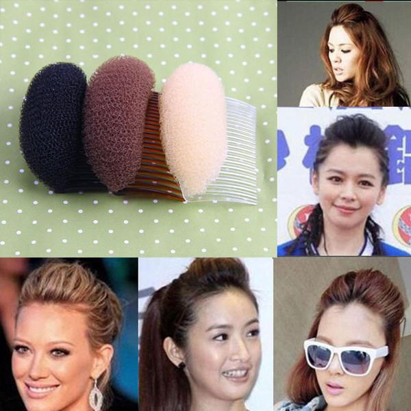Hot Sale Women Fashion Hair Styling Clip Stick Bun Maker Braid Tool Hair Accessories Drop Shipping Headwear-0081