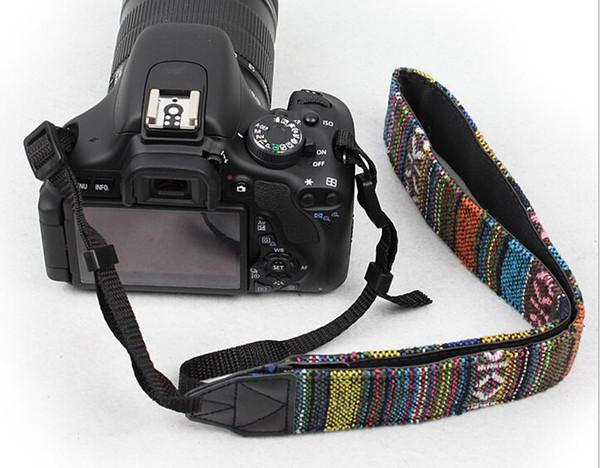 Universal-Böhmen-Art Kamera-Bügel-Ansatz-Schulter-Bügel-Gurt für DSLR Nikon Canon Panasonic Sony geben Verschiffen frei