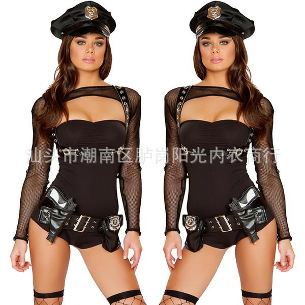 Ролевая сексуальная игра в полицейского