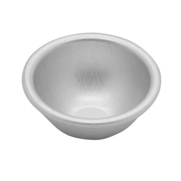 Wholesale- 2016 New 10pcs/Lot Aluminum Sphere Bath Bomb Cake Baking Pastry Ball Mold Multi-size Chocolate balls production