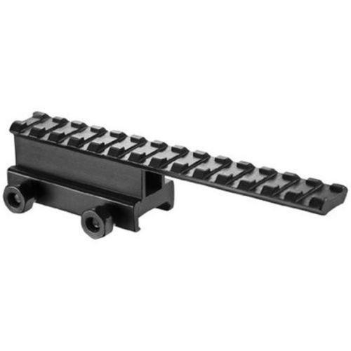 Scope Mount Base Flattop Riser Extended long Pour 20mm picatinny/Weaver Rail 0032