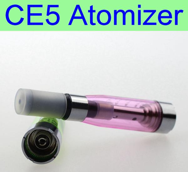 10 pz / lotto ego serie CE5 Atomizzatore Wickless eGo Discussione 2.4ohm 7 Colori vaporizzatore per eGo Seriale e Sigaretta elettronica clearomizer