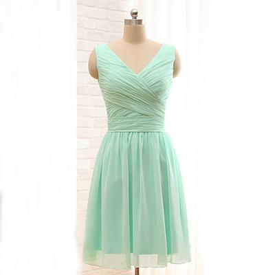 Vestidos verde menta para mujer