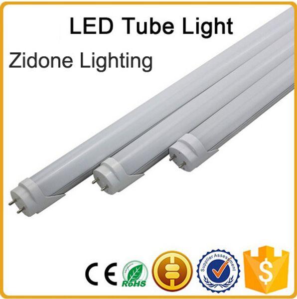 New arrivals CE ROHS FCC + 5ft 1500mm T8 Led Tube Light High Super Bright 25W Warm Cold White Led Fluorescent Bulbs AC85-265V