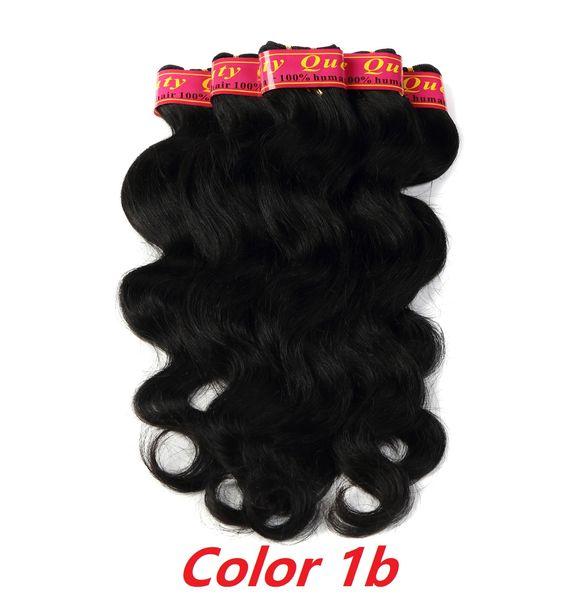 Brazilian Body wave 100% Human Hair No Shedding 7 bundles 50g Hair Extensions 12-28 Inch Free Shipping
