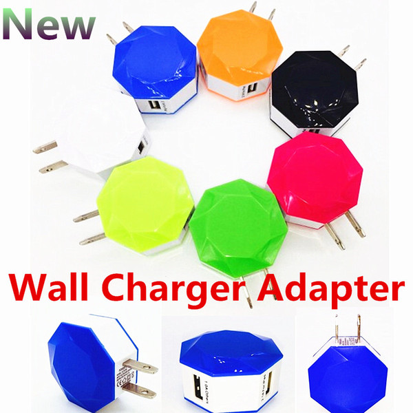 Universal dual usb eua plugue 5 v 3a ac power 2 porta carregador de parede adaptador para iphone 6 6 s samsung s6 edge plus htc ipod ipad