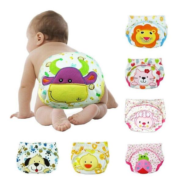 top popular Baby underwear pant children kids pants shorts baby training pants panties unisex top quality baby toddler 5pcs lot designer 2019