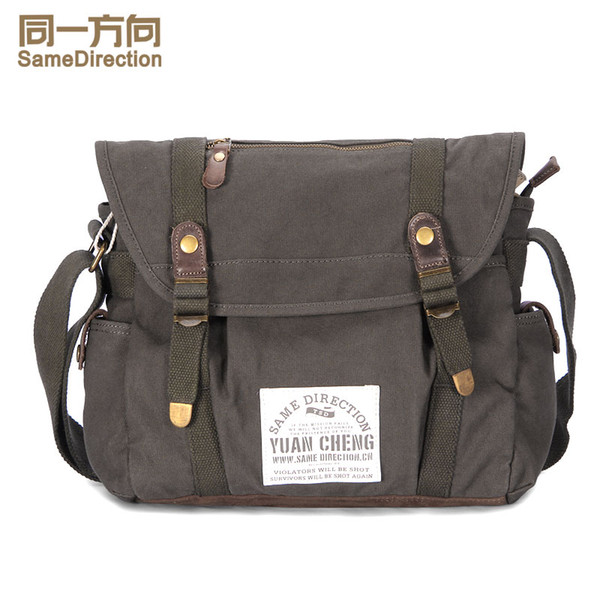 Tsd Compact Canvas Messenger Bags And Commuter Bags For Men And ...