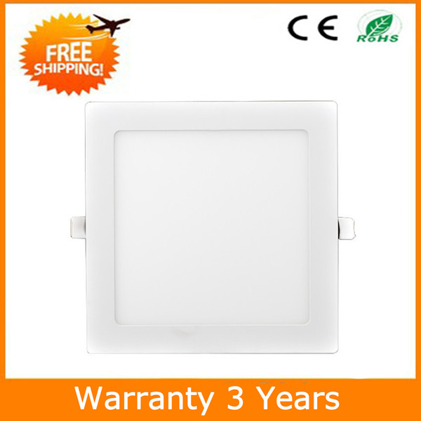 9W LED Downlight LED Panel Down Light Square 145x145mm 15PCS Epistar Chip 100-110LM/W 3 Years Warranty Manufacturer Supply Free Shipping