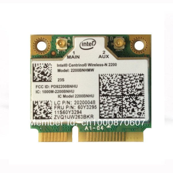 Wholesale- Intel 2200 Wireless N For Lenovo Thinkpad E49A E49L E49AL E49G K29 E330 L330 Series,FRU 60Y3295 20200048