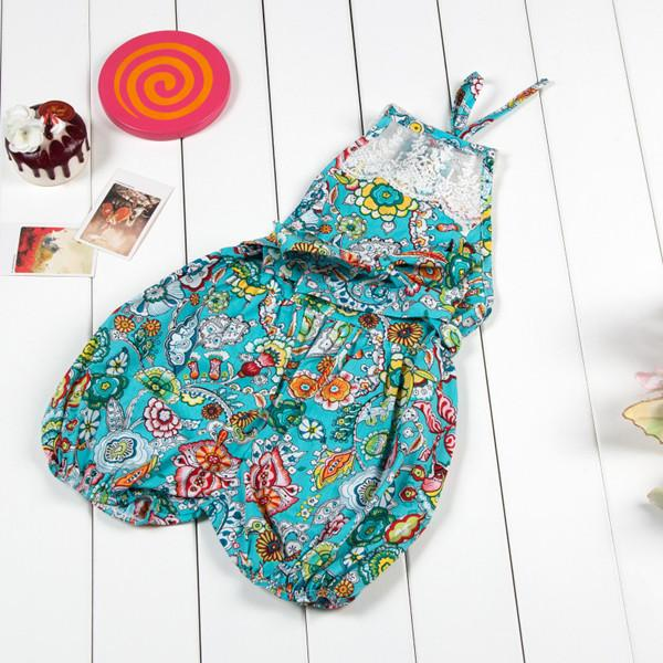 newborn baby girl clothes ,summer girls sun suit ,holiday beach baby girls  rompers ,