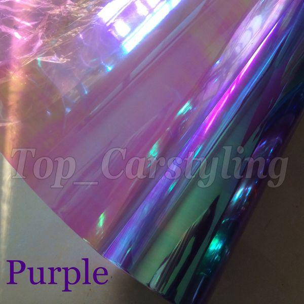 1 Roll Chameleon Headlight tint film rear car lights tinting Tail lights tint size 0.3x10m/Roll Free Shipping