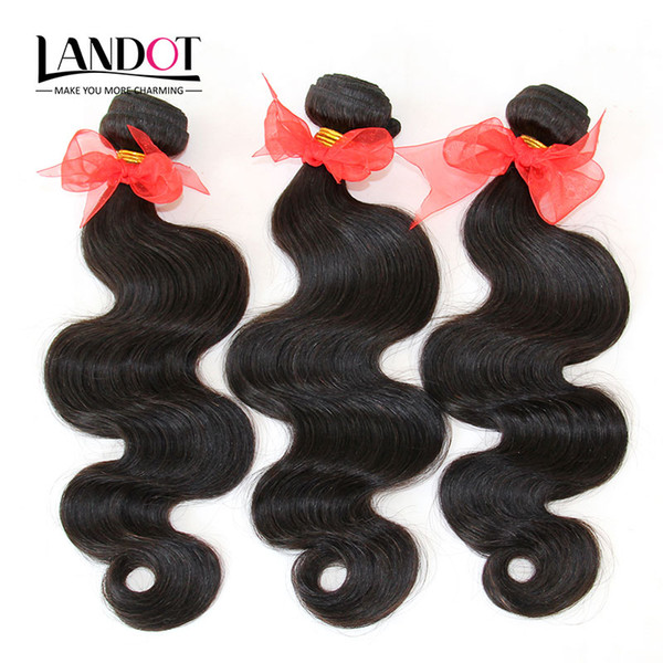 Brazilian Human Hair Weave Extensions Peruvian Malaysian Indian Cambodian Mongolian Hair Body Wave 3 Bundles Dyeable Grade 8A Best Quality