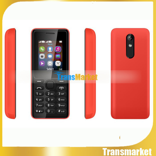top popular 1.77Inch Cheap senior cell Phone Dual SIM Big Keyboard Loud Speaker Color Screen TFT FM Long Standby Quad Band Phone for Student,Old,childre 2021