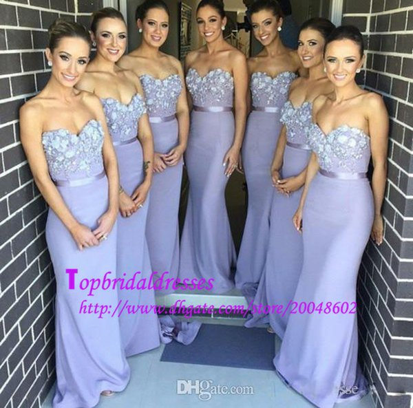 Lavender Bridesmaid Dresses Under 100 New Style Sweetheart Neck ...