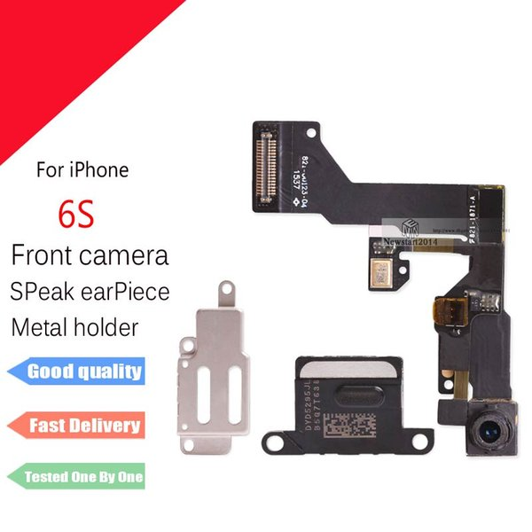 For iPhone 6S 4.7''Front Camera Proximity Light Sensor + Ear piece Speaker Metal holder Repair Parts