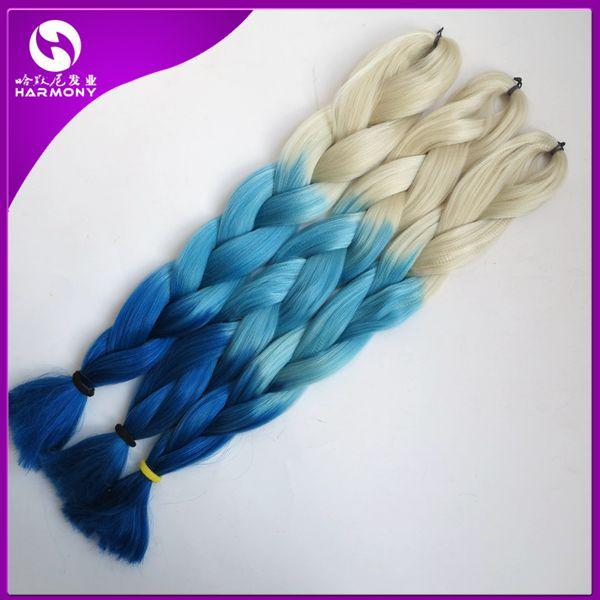 Blonde +Lake blue +blue