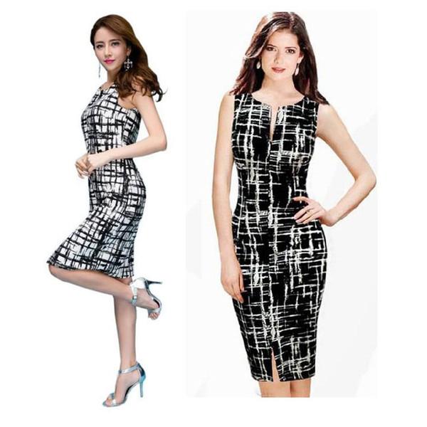 New Hot Women's Sexy Slim Bodycon Cocktail Pencil Dress Evening Vest Mini Dress Clubwear Plus Size Party Dress