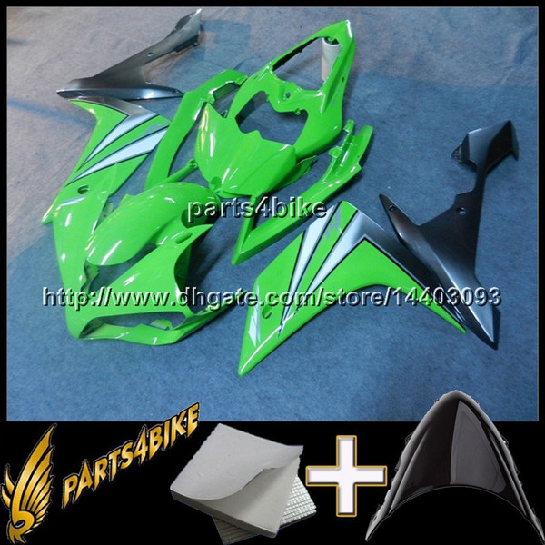 23colors+8Gifts Injection mold GREEN YZFR1 2007 2008 Fairing For yamaha YZF R1 07 08 YZF-R1 2007-2008 ABS Plastic Bodywork Set 004 F