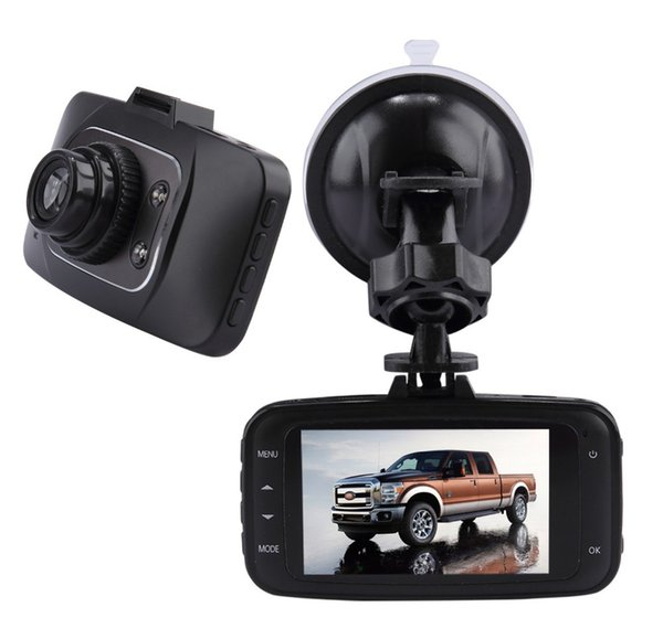 Novatek DVR Camera GS8000 Full HD 1920x1080P GS8000 Car Camera Recorder 2.7 inch LCD G-Sensor HDMI 25FPS IR Night Vision Car DVR