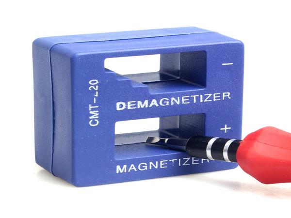Destornillador azul magnético de la herramienta del desmagnetizador de alta calidad magnético