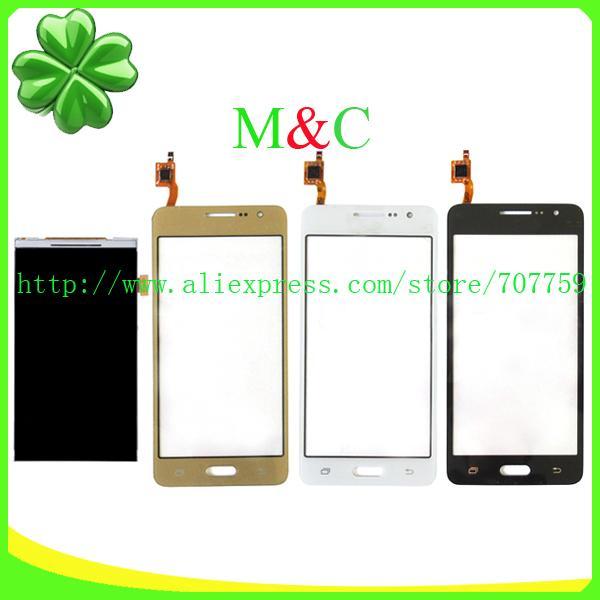 Dokunmatik Ekran Digitizer Cam Panel Ücretsiz Nakliye + Takip Kodu ile Sumsung Galaxy G531 SM-G531F G531F Toptan-Orijinal LCD Ekran