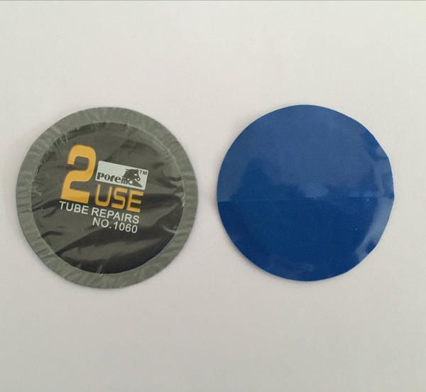 30 pcs/box // 57mm round Tubeless tire repair patch plug & Inner tube tire repair patch