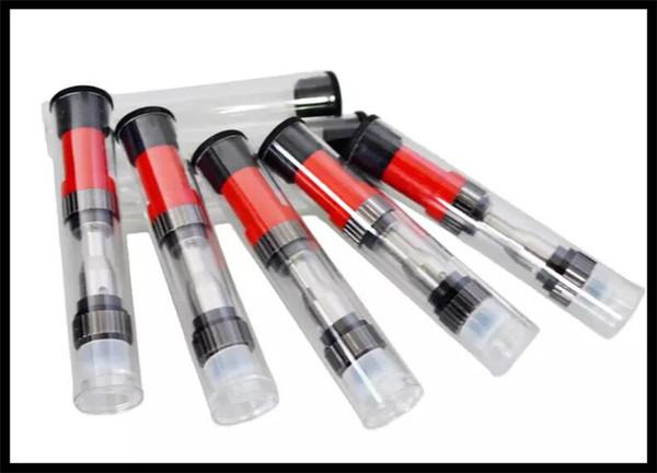 Öffnen Sie Knospenberührungs-Zerstäuber-Stift-Patronen 510 Amigo Freiheits-V1 Behälter-Doppelspulen-Glaskassette 0.5ml 1ml