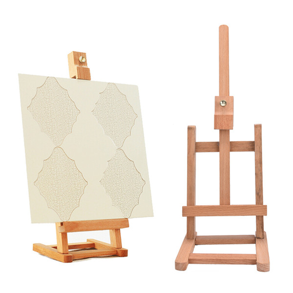 top popular Sketch Easel For Painting Foldable Painting Easel Display Wood Wooden Sketch Frame For Artist cavalete para pintura 2021
