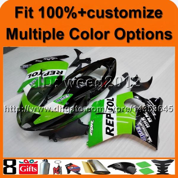 23colors + 8Gifts Cubierta de motocicleta REPSOL para HONDA CBR1100XX 1997-2003 CBR1100XX 97 03 Carenado de plástico ABS
