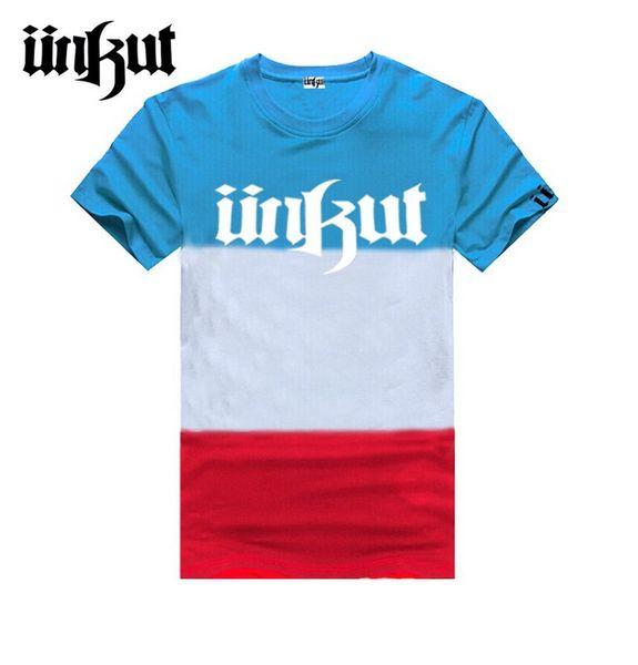 Frete grátis moda masculina Unkut Camiseta Homens Hip Hop T Camisa Mens manga curta s-5XL